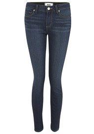 Paige Denim Verdugo Mid Rise Ultra Skinny Ankle Transcend Jeans - Nottingham