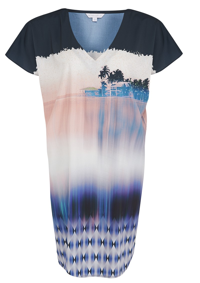 Star Mela Danna Printed Dress - Multi main image