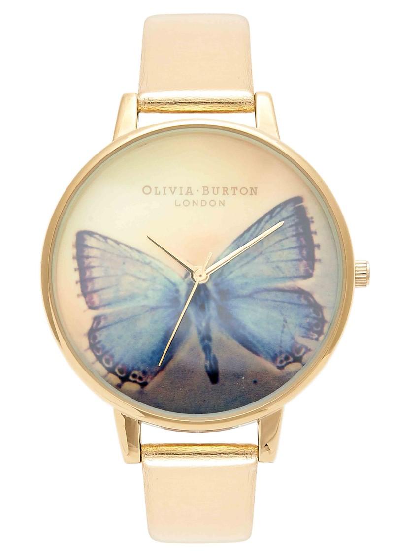 Olivia Burton Woodland Butterfly Watch - Metallic  main image
