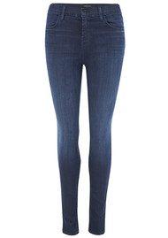 J Brand 23110 Maria High Rise Stocking Skinny Jeans - Darkness