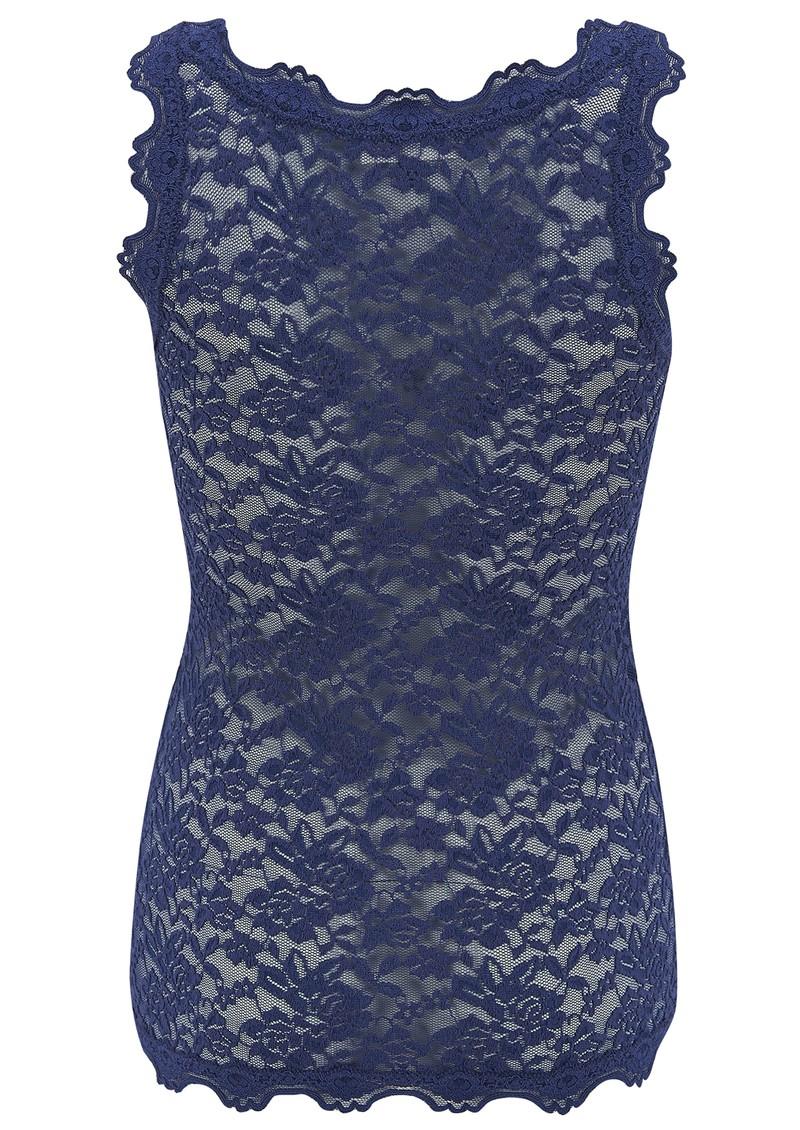 Rosemunde Lace Vest Top - True Blue main image