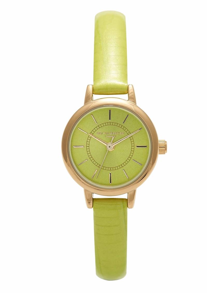 Olivia Burton Colour Crush Watch - Lime & Gold main image