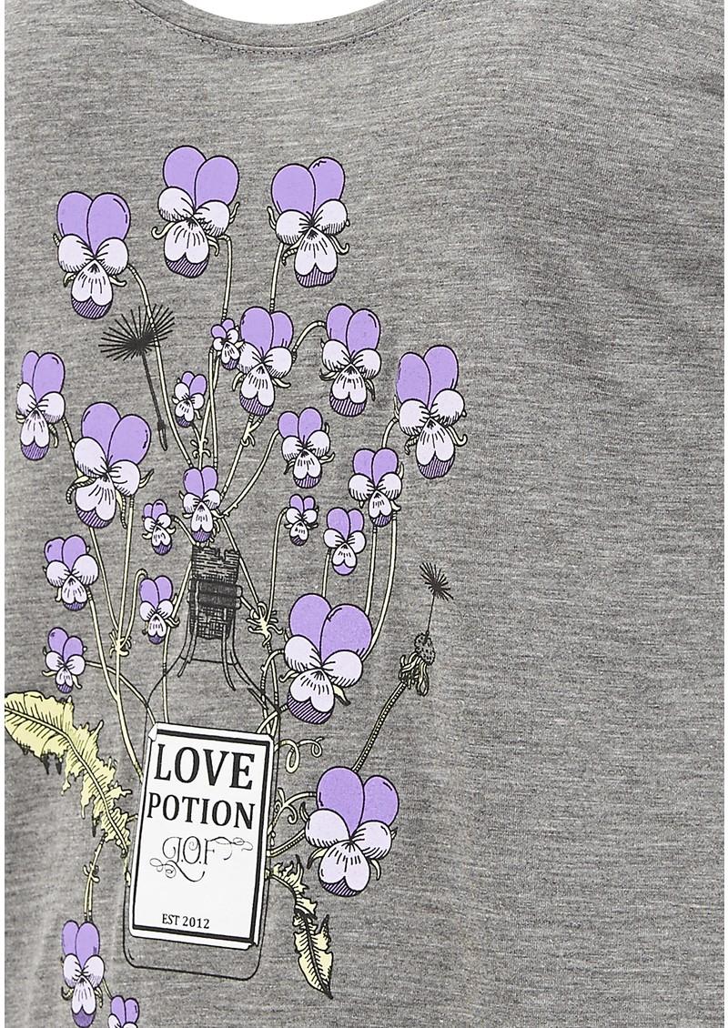 Language Of Flowers Viola Tank - Grey main image