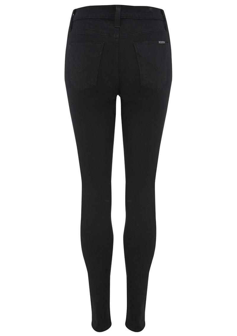 Hudson Jeans Barbara High Waist Skinny Jeans - Black main image