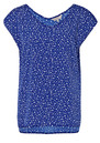Great Plains Join The Dots Top - Cobalt Blue