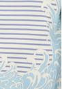 Paul and Joe Sister Sailor Short Sleeve Cotton Top - Bleu