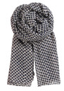 Becksondergaard L-Mini Flake Cotton Scarf - Night Blue