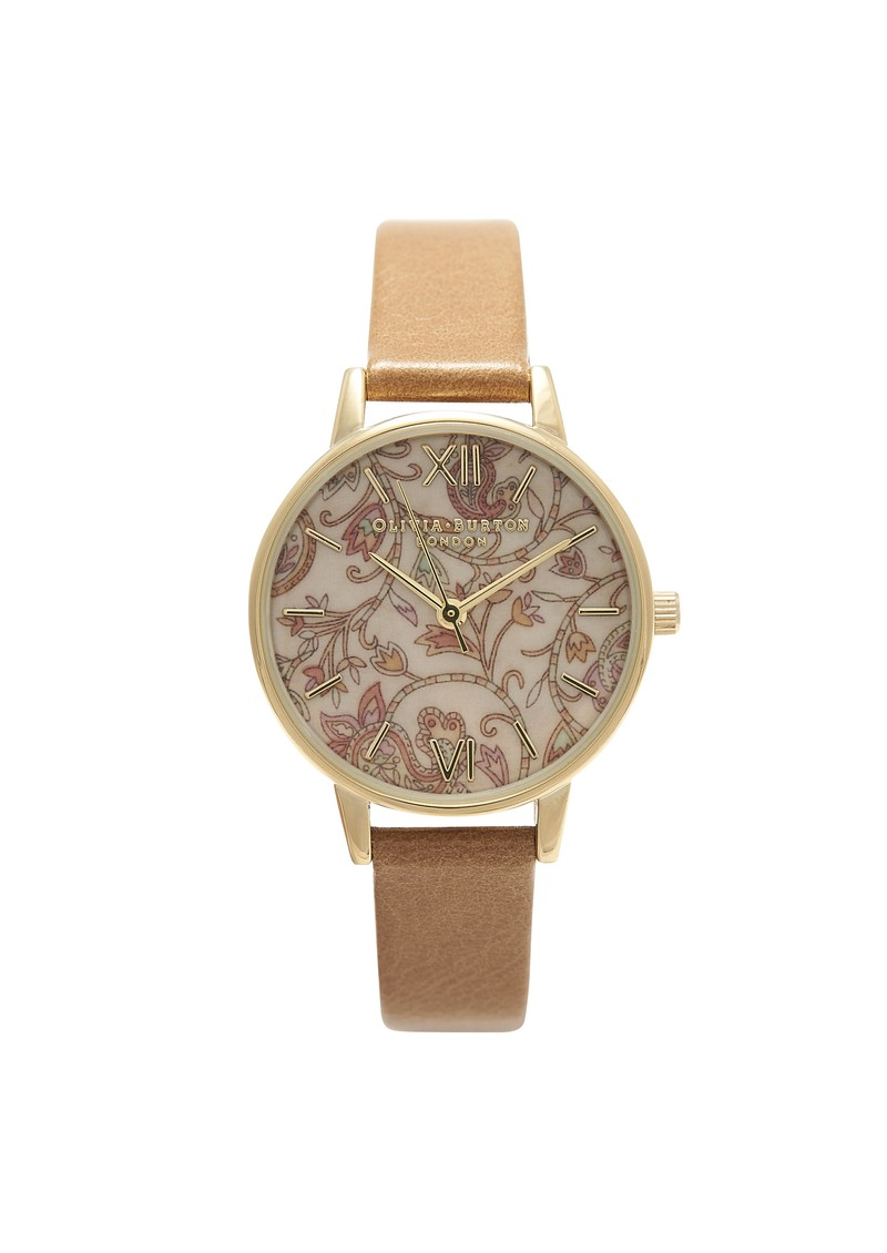 Wonderland Watch - Camel & Paisley main image