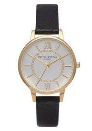 Olivia Burton Wonderland Watch - Gold & Black