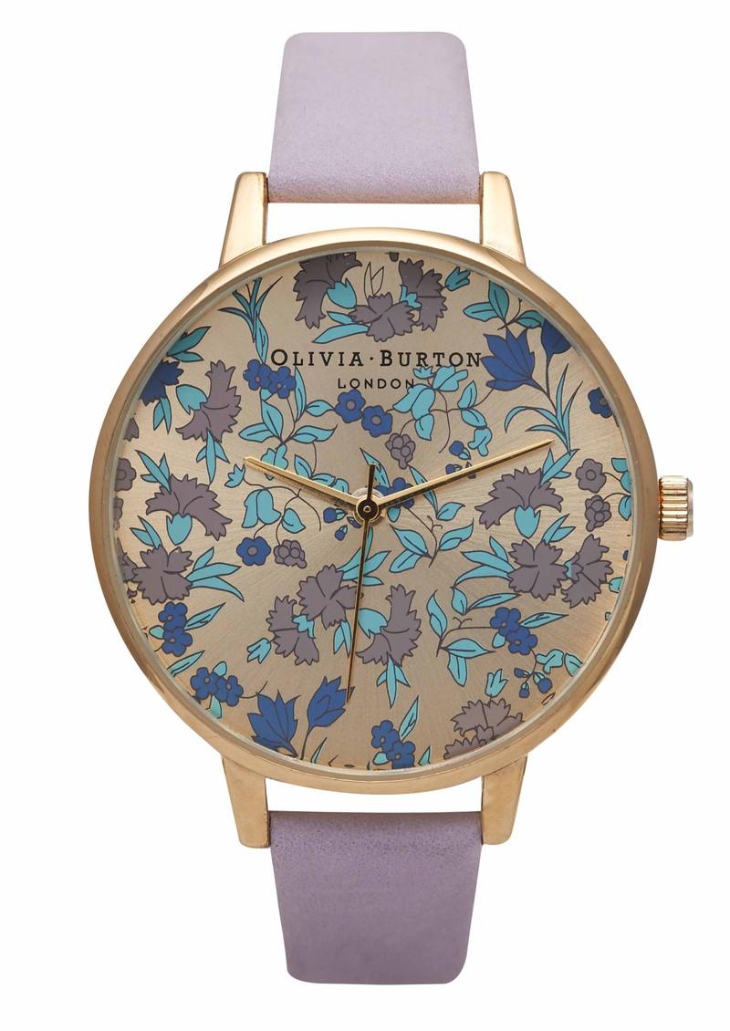 Olivia Burton Parlour Floral - Gold & Lilac main image