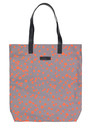 Becksondergaard L-Tote Animal Dot Cotton Bag - Mouse