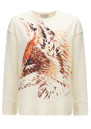 Paul and Joe Sister Foxtrot Cotton Sweater - Ecru