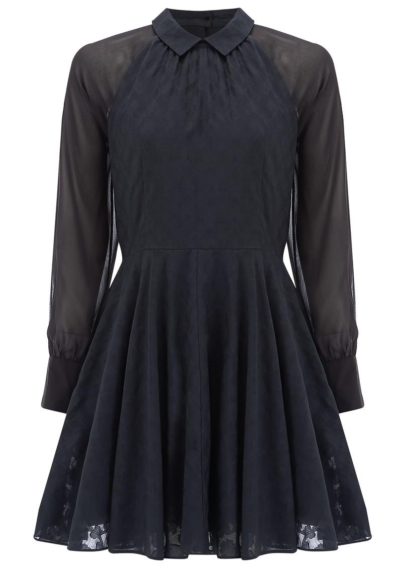 Paul and Joe Sister Robette Cotton Mix Shirt Dress - Navy main image