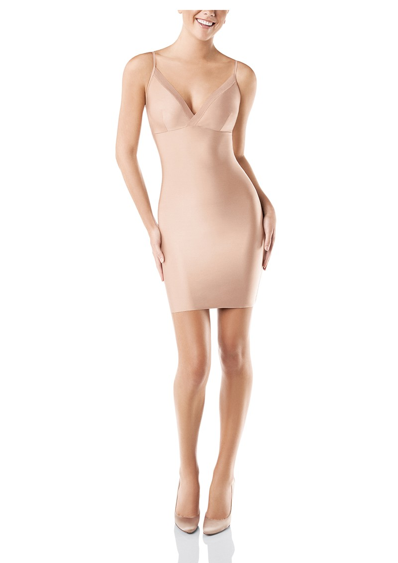 Spanx Lingerie Full Slip with Straps - Nude main image