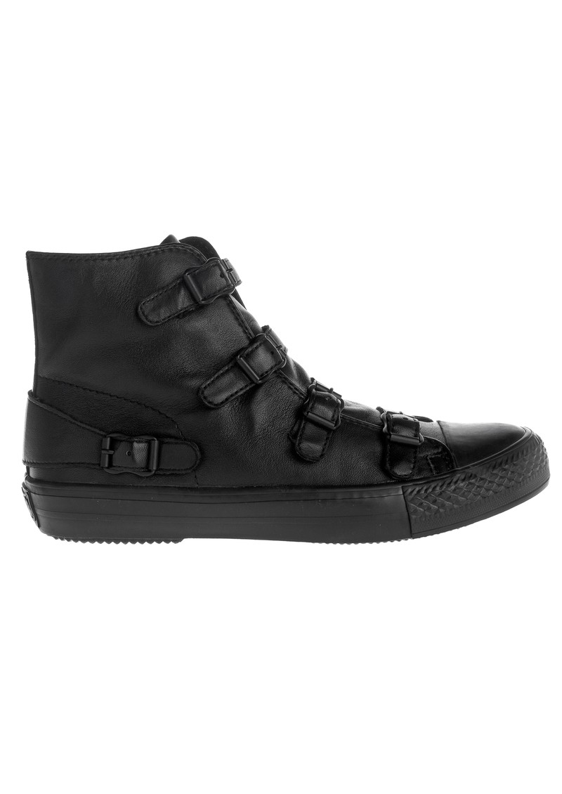 Ash Virgin Ter Nappa Buckle Trainers - Black main image