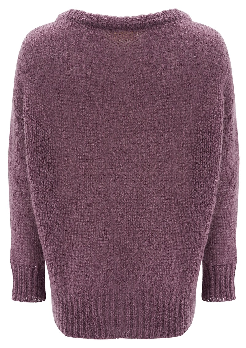 American Vintage OWATONNA MOHAIR PULLOVER - MAUVE main image