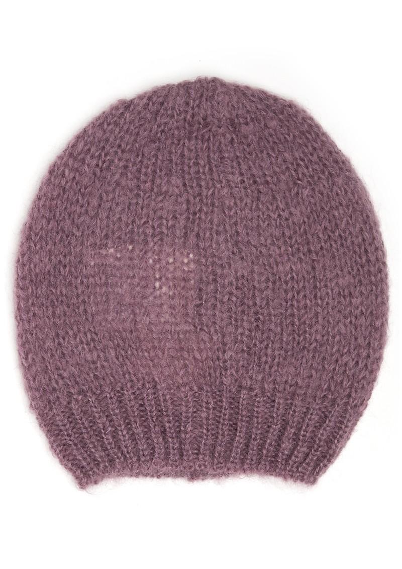 American Vintage OWATONNA MOHAIR BEANIE HAT - MAUVE main image ... b7d95cb47de