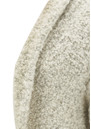 American Vintage MOAPA VALLEY OPEN KNIT CARDIGAN - HEATHER GREY