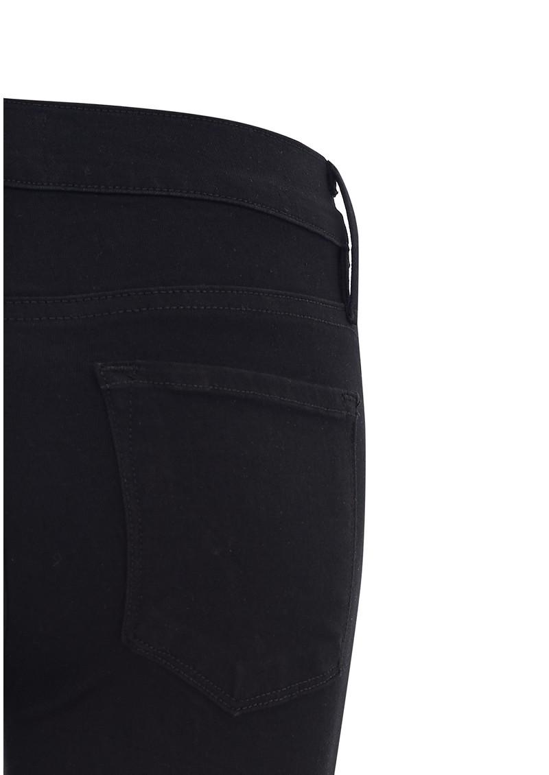 Frame Denim Le Skinny Satine Mid Rise Jeans - Vian Ripped main image