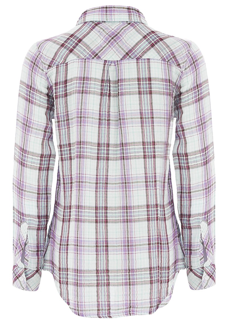 Rails KENDRA CHECK SHIRT - MINT main image