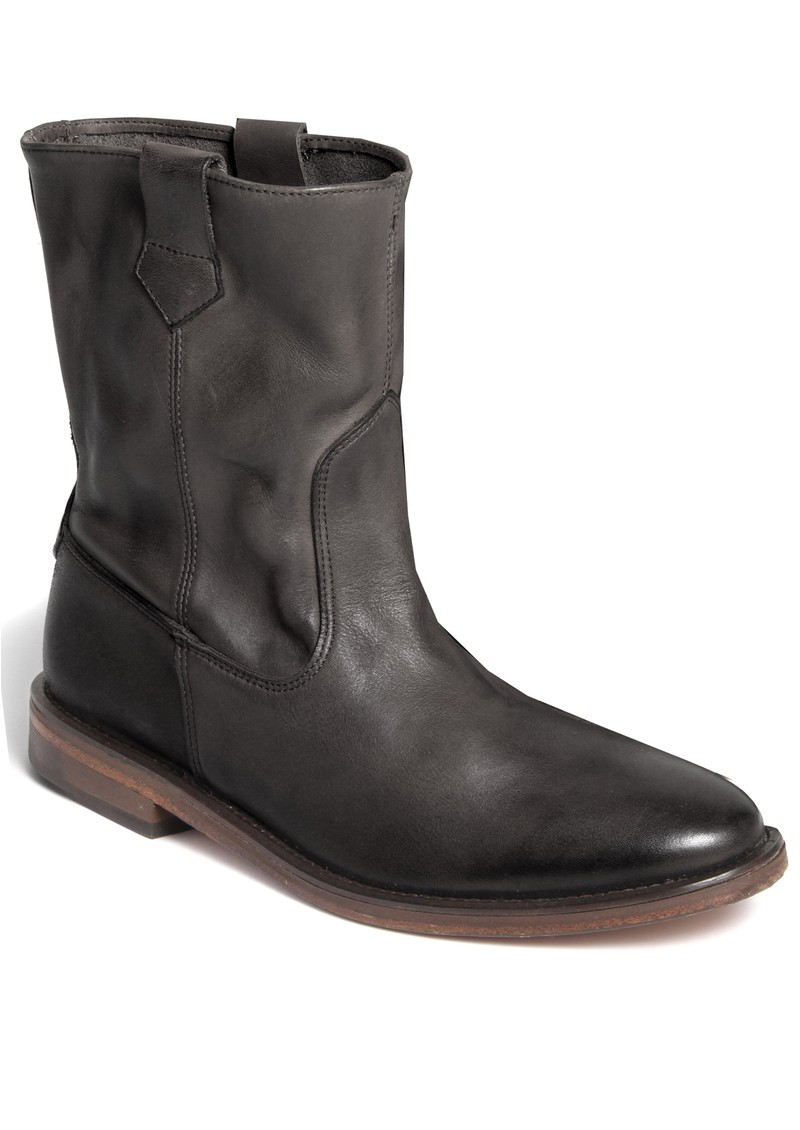 Hudson London HANWELL LEATHER ANKLE BOOTS - BLACK main image