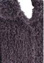 Unreal Fur DE FUR COAT - CHARCOAL
