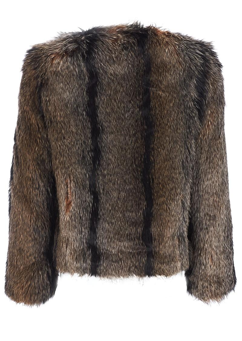 Unreal Fur UNREAL DREAM JACKET - NATURAL main image