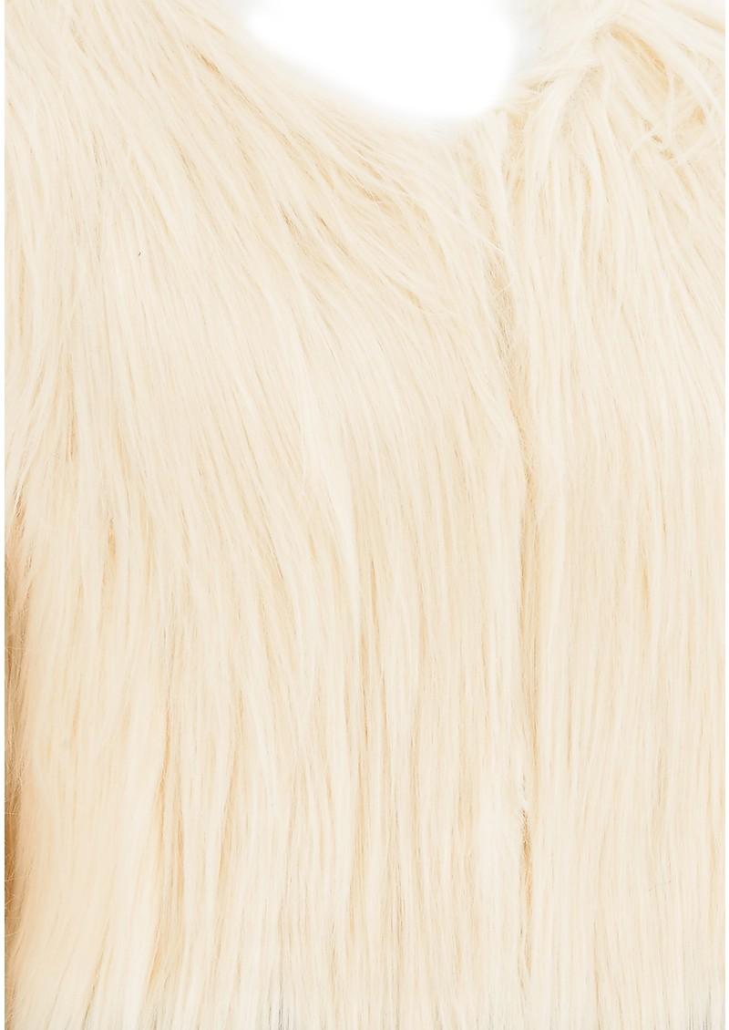 Unreal Fur FIRE & ICE JACKET - CREAM main image