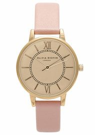 Olivia Burton Wonderland Watch - Gold & Dusty Pink