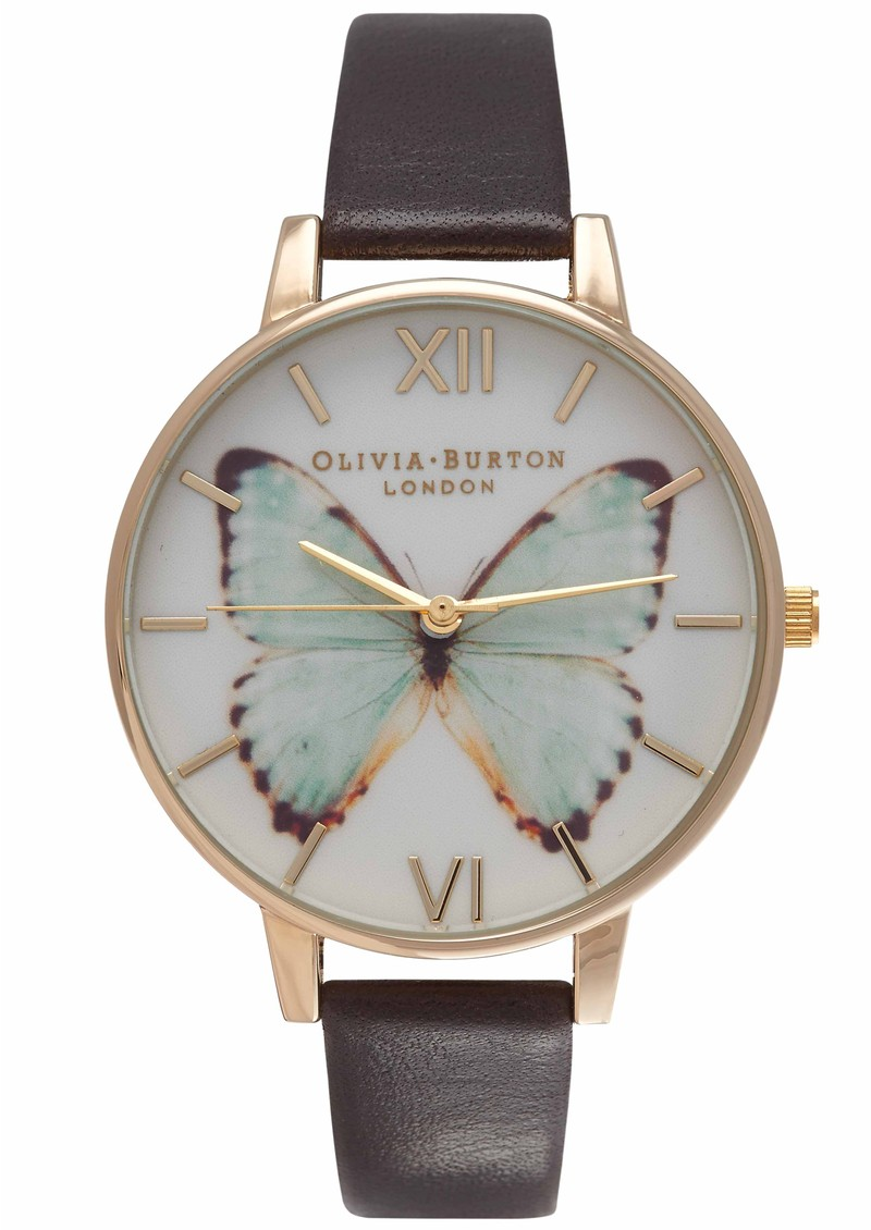 WOODLAND BUTTERFLY WATCH - MINT main image