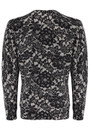 LACE PRINT JUMPER - ALABASTER BLACK additional image
