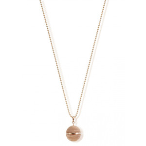 STARRY EYES BALL CHAIN & HARMONY BALL NECKLACE - ROSE GOLD