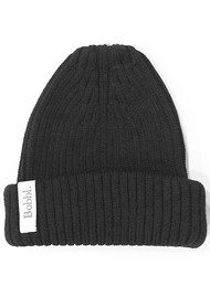 BOBBL BOBBL KNITTED HAT - BLACK