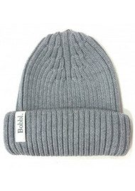 BOBBL BOBBL KNITTED HAT - GREY