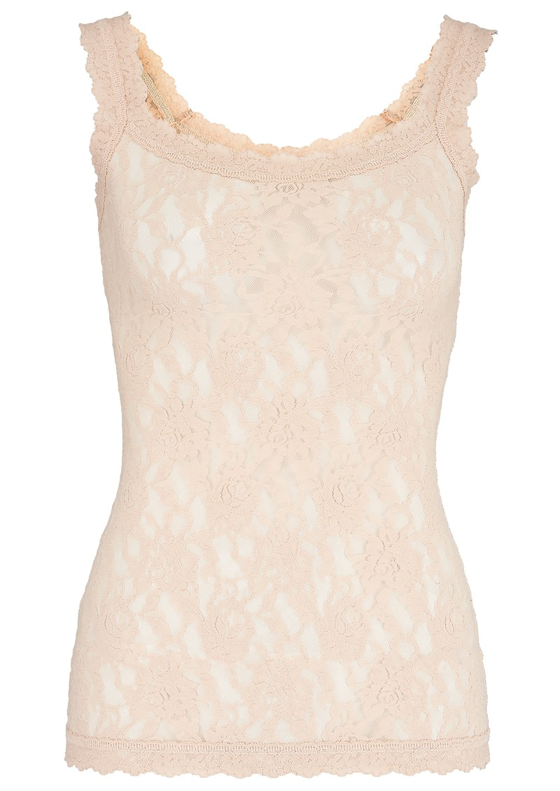 Unlined Lace Cami - Chai main image