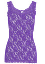 UNLINED LACE CAMI - AFRICAN VIOLET additional image
