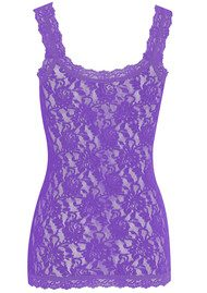 Hanky Panky UNLINED LACE CAMI - AFRICAN VIOLET