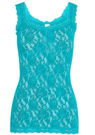 Hanky Panky UNLINED LACE CAMI - TURKISH TILE