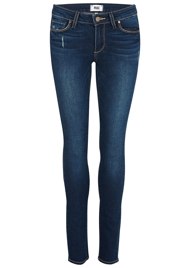 Paige Denim Verdugo Mid Rise Ultra Skinny Jeans - Pacifica main image