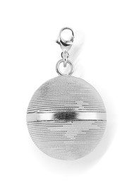 ChloBo STARRY EYES LARGE HARMONY BALL PENDANT - SILVER