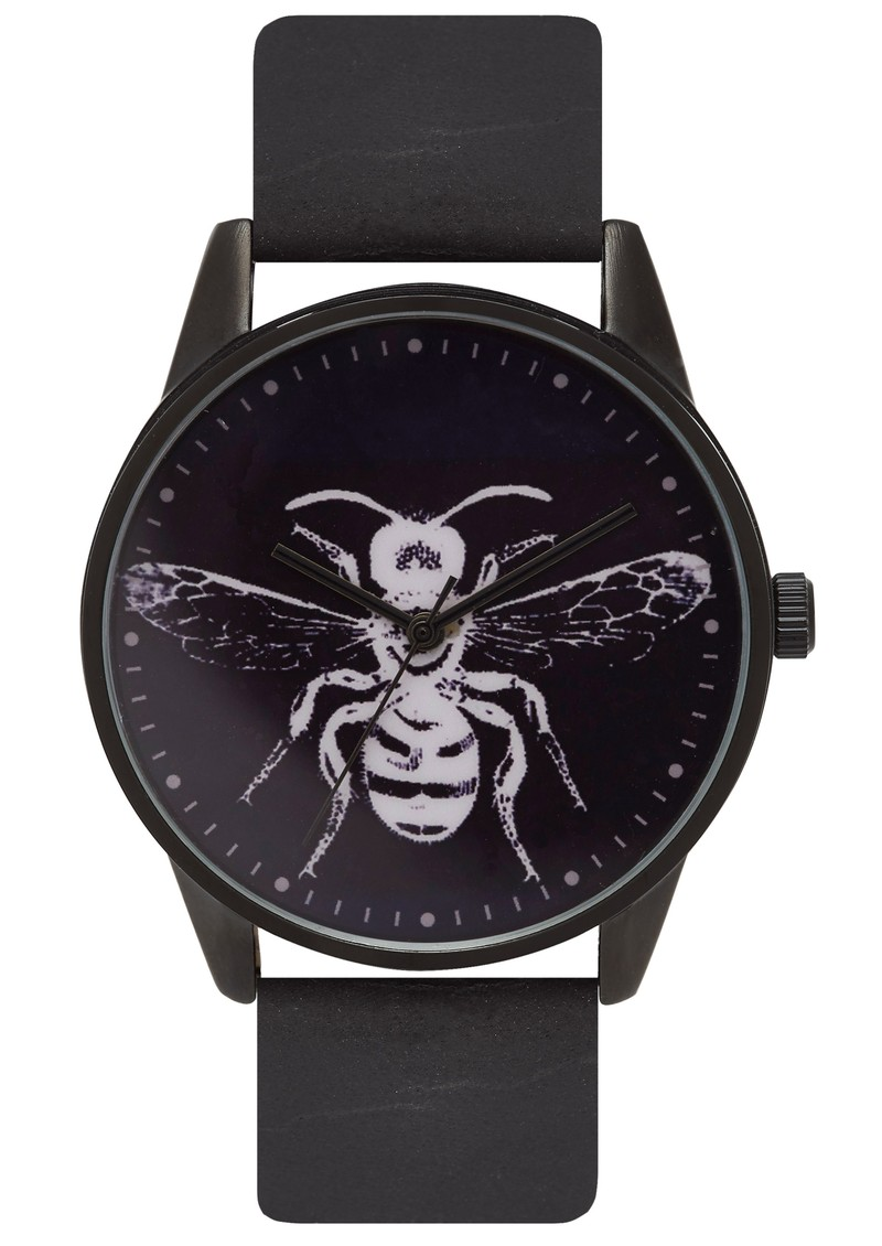 UNKNOWN NATURAL SCIENCE BEE WATCH - BLACK & WHITE main image