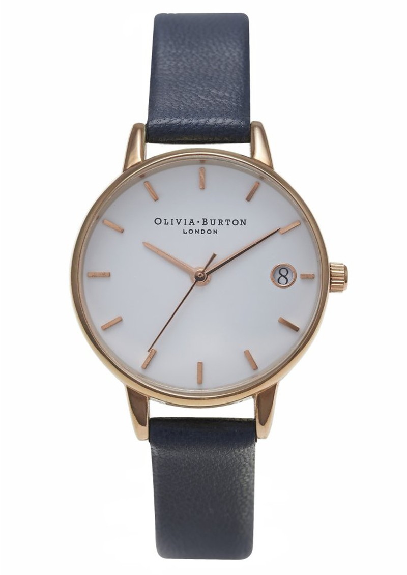 THE DANDY MIDI DIAL WATCH - NAVY  main image