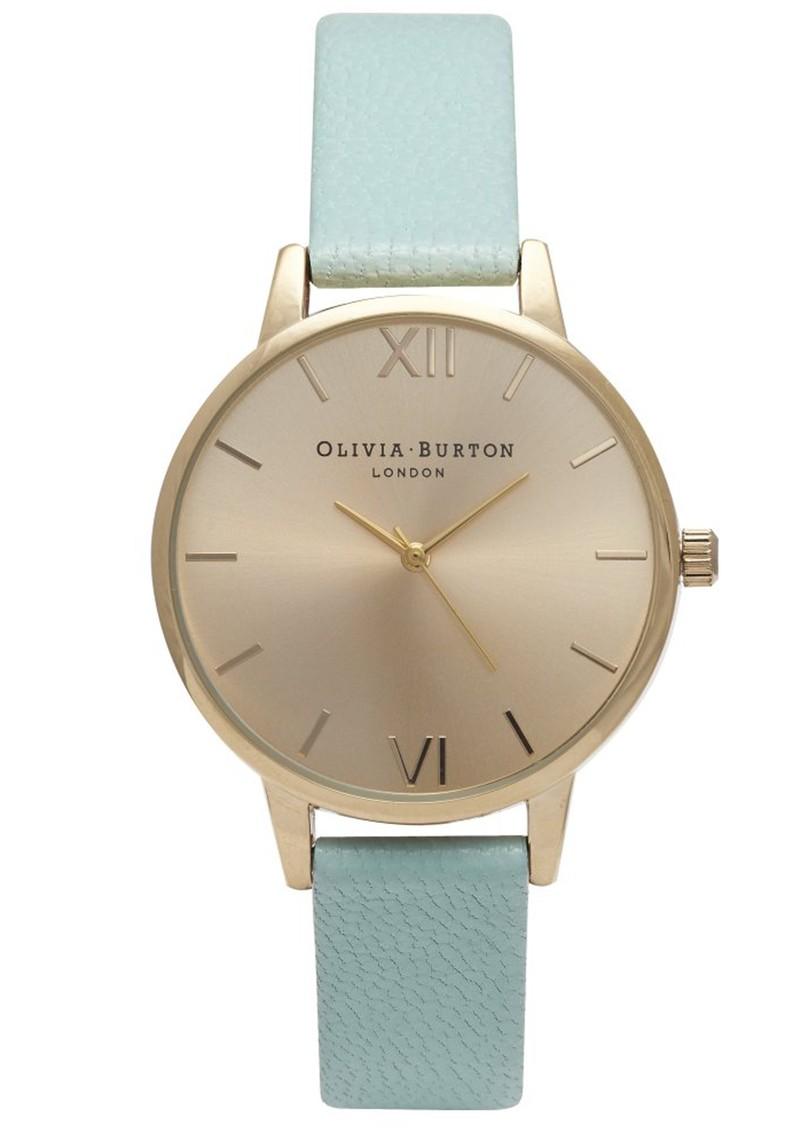 Olivia Burton MIDI DIAL WATCH - MINT & GOLD main image