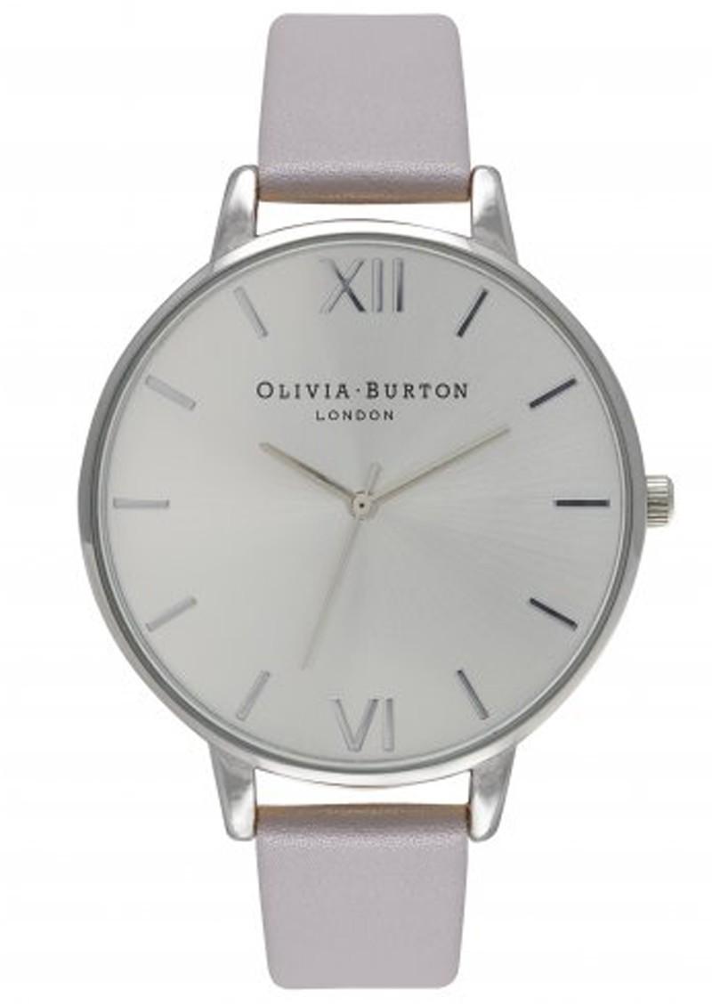 Olivia Burton BIG DIAL WATCH - GREY LILAC & SILVER main image
