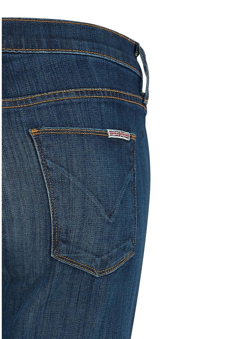 Hudson Jeans NICO MID RISE SUPER SKINNY DISTRESSED JEANS - WAPA main image