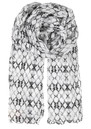 N-Zoia Cotton Scarf - Black additional image