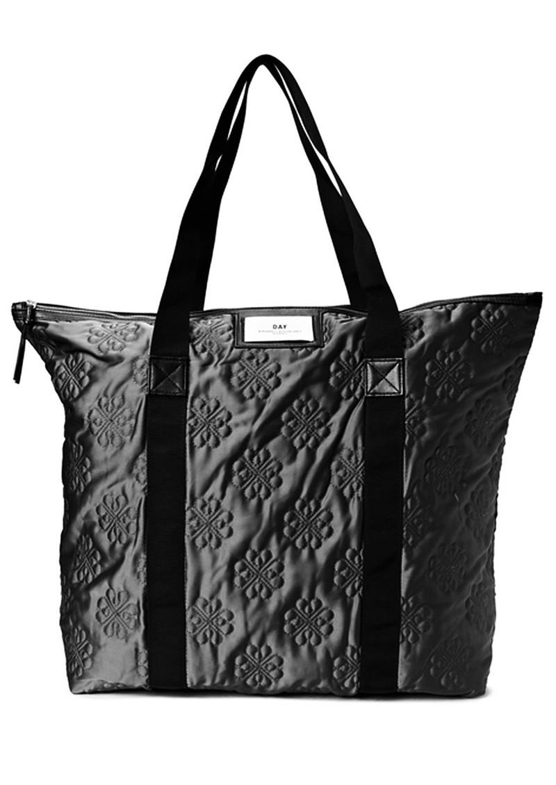 day birger et mikkelsen day gweneth quilted signature bag. Black Bedroom Furniture Sets. Home Design Ideas