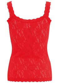 Hanky Panky UNLINED LACE CAMI - RED