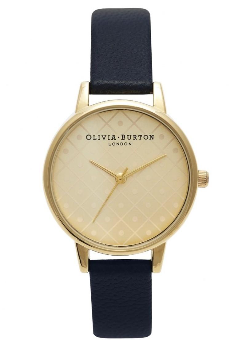 Olivia Burton Modern Vintage Watch - Gold & Black main image
