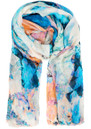 Lily and Lionel Saona Silk Mix Scarf - Multi Pastel